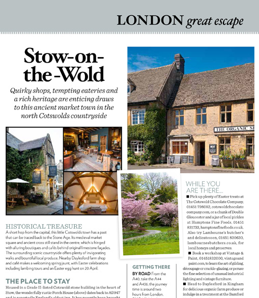Homes & Gardens – Great Escapes